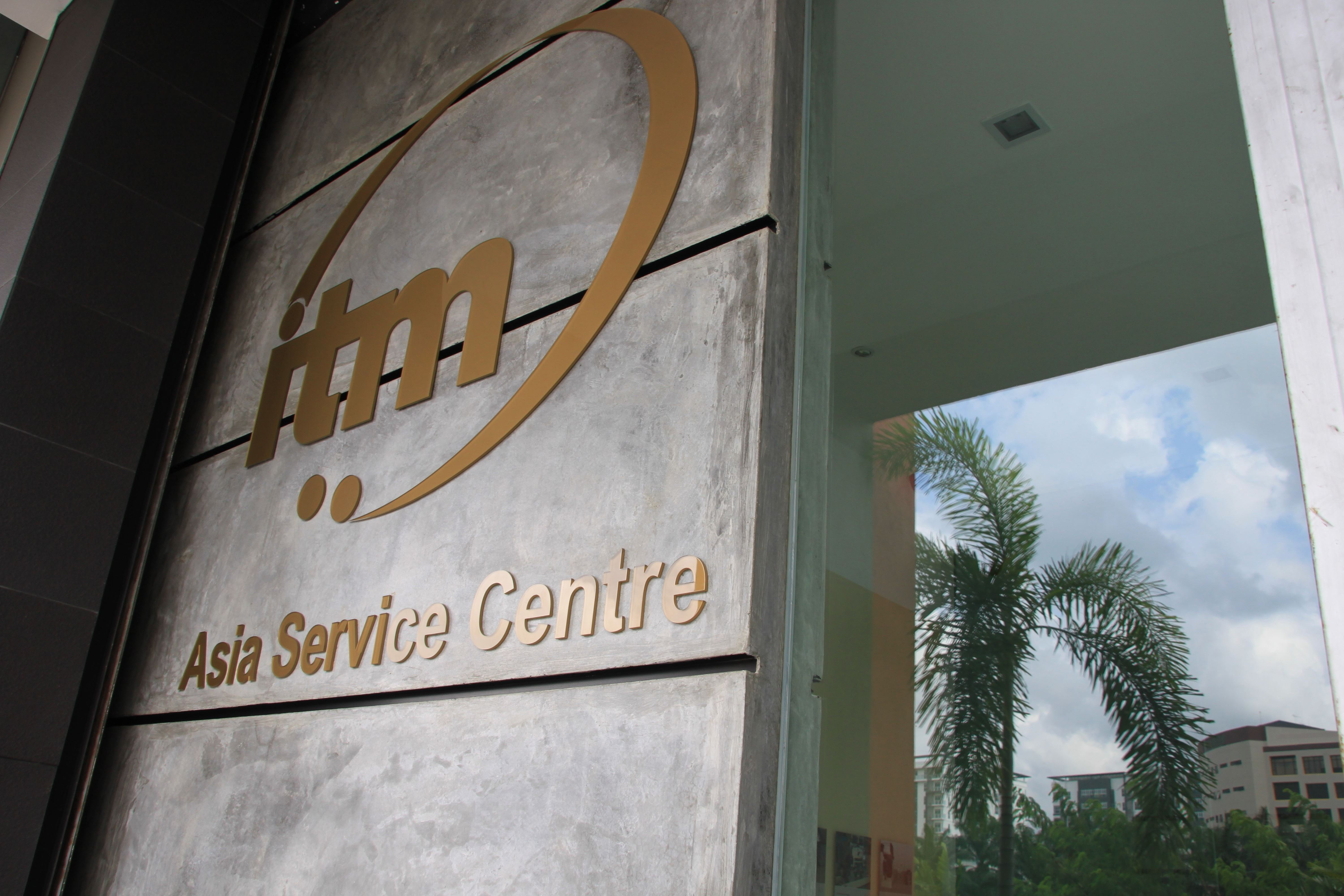 ITM Service Center Asia: your regional service supplier