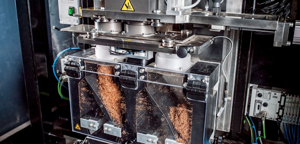 Turnkey Pouch packing line for loose tobacco