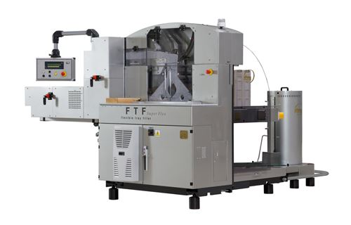 Flexible tray filling machine FTF Super Flex
