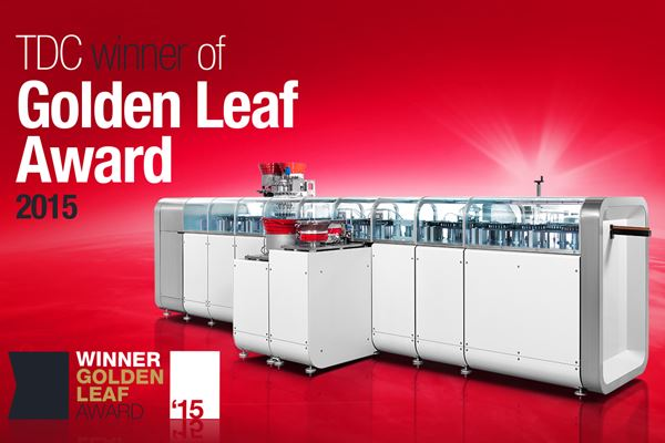 TDC's Genesis wins Golden Leaf Award 2015!