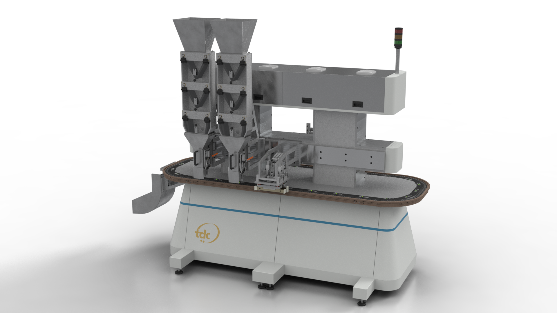 Doysis built of 2 modules, with double dosing system.